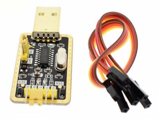 USB TTL serial converter 3.3V 5V CH340G