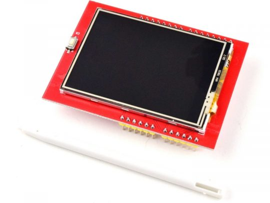 2.4 TFT Touch Display for Arduino UNO, Mega etc., 240×320, micro SD