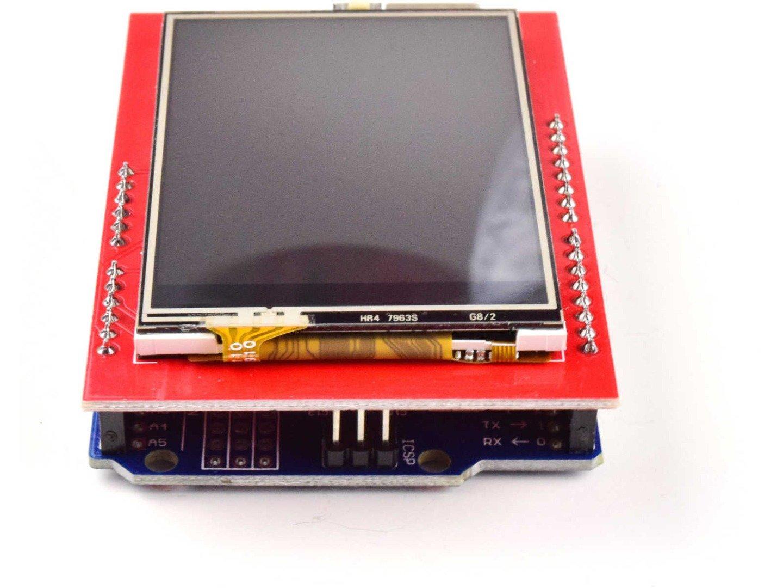 2.4 TFT Touch Display for Arduino UNO, Mega etc., 240×320, micro SD