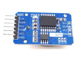 RTC Real Time Clock DS3231, 32kB Memory, I2C, Battery Backup, Arduino Library