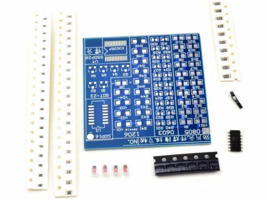 SMD Soldering Practice Kit 0603 0805 1206 SOT-23 SOP16