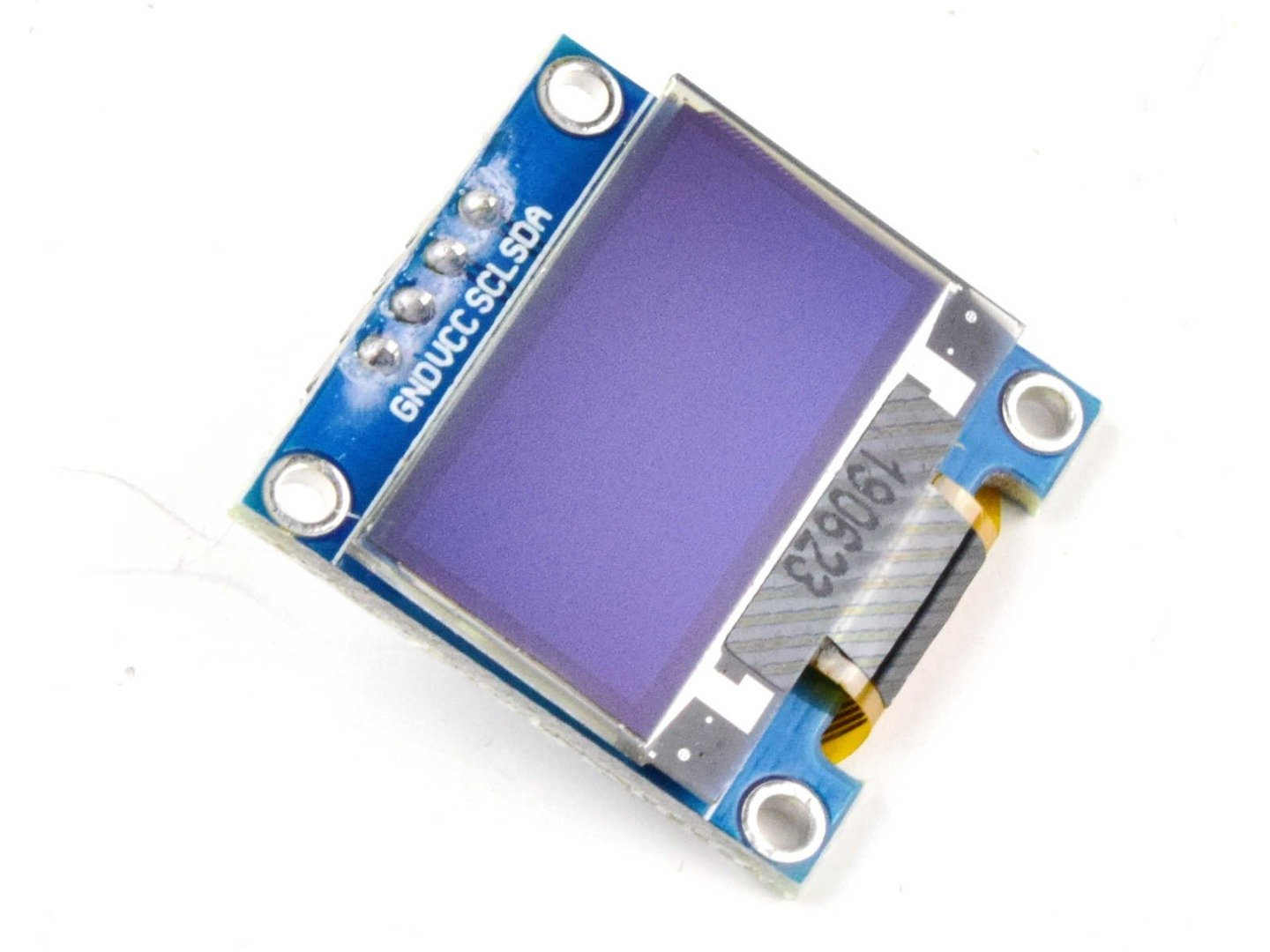 OLED 128×64 Pixel, I2C, 0.96 inch, SSD1306 SH1106, 3-5V (100% compatible with Arduino)