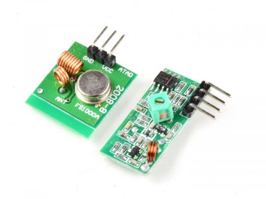 315 MHz Wireless Transmitter Receiver Kit for Micro Controller