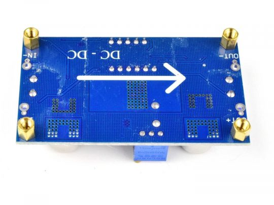 DC-DC Converter 5A 75W Adjustable, LED Voltage Display