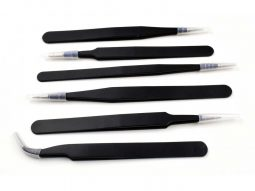 6 pcs. ESD Anti-Static SMD Electronics Tweezers