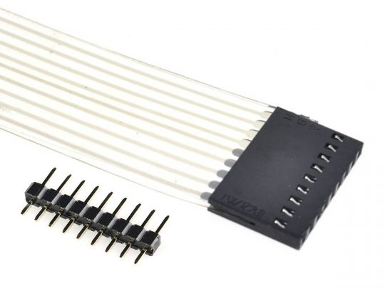 2 pcs 5 x 4 = 20 Key Matrix Keypad, Adhesive Back, pin header