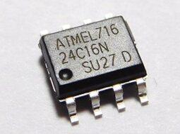 60 pcs Kit I2C EEPROM SOIC-8 1.8-5.5V 2K-64K 24C64