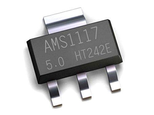 70 pcs AMS1117 LDO Kit, 7 Values, SOT-223