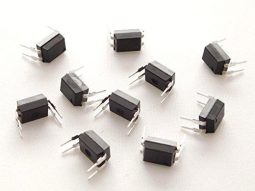 10 pcs PC817C Optocoupler Photocoupler, DIP-4, 20mA, CTR: 200-400