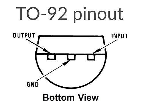 120 pcs LDO Voltage Regulator Kit 78xx TO-92