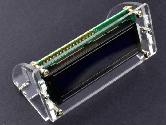 LCD 1602 16×2 Enclosure Acrylic