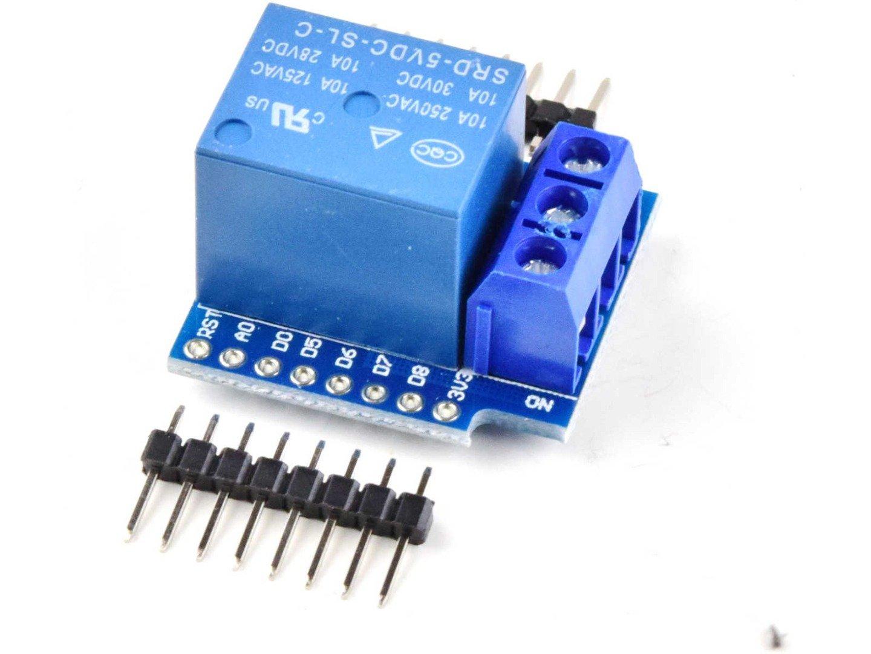 WEMOS D1 Mini compatible Relay Shield