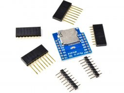 WEMOS D1 Mini compatible Micro SD Card Shield