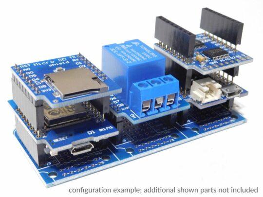 WEMOS D1 Mini compatible Micro SD Card Shield