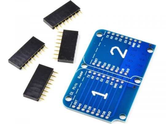 WEMOS D1 Mini compatible ESP8266 Dual Base
