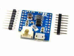 WEMOS D1 Mini ESP8266 WiFi compatible Lithium Battery Shield