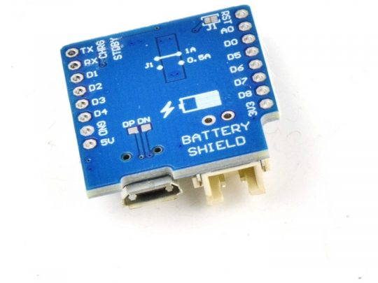 WEMOS D1 Mini ESP8266 WiFi compatible Lithium Battery Shield