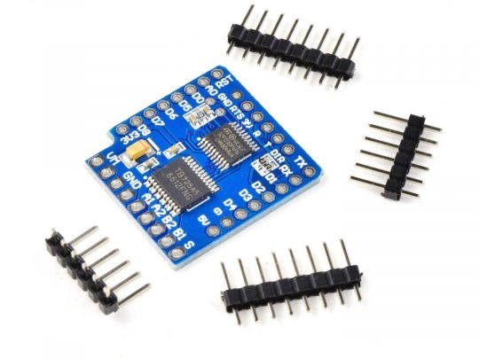 WEMOS D1 Mini compatible Motor Driver Shield