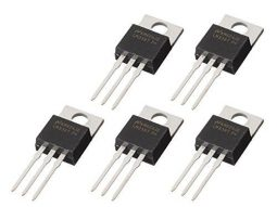 5 x LM338T Adjustable Voltage Regulator 5A