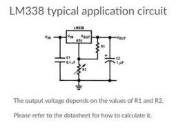5 x LM338T Adjustable Voltage Regulator 5A