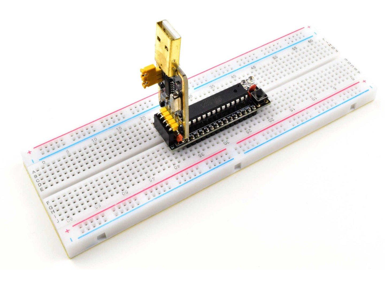 3 x CANADUINO Breadboard Buddy – Compatible with Arduino UNO and NANO – incl. USB Adapter