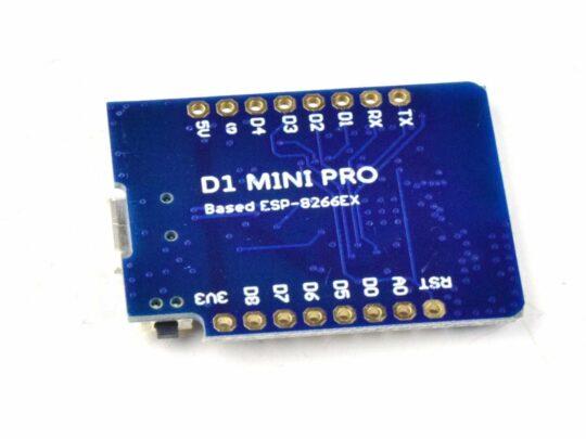WEMOS D1 Mini Pro 16MB ESP8266 WiFi, Arduino Lua NodeMCU, Antenna