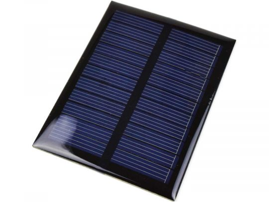 Solar Panel 5V, 500mW, for DIY and Electronics Projects