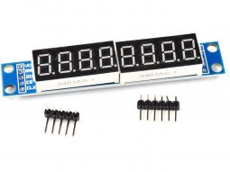 8-digit serial LED 7-segment display, MAX7219, 9.5mm