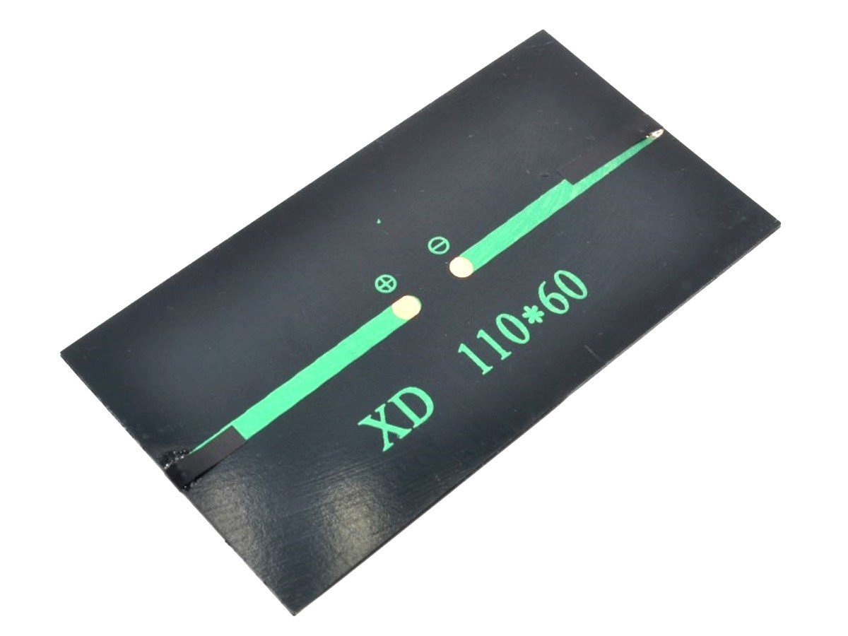 Solar Panel 5V, 1W, for DIY and Electronics Projects