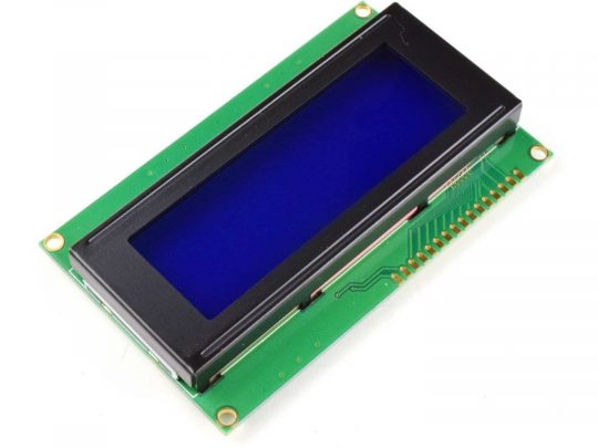 LCD 2004 20×4 Blue, White Backlight, parallel or I2C serial
