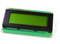 LCD 2004 20×4 Green, Yellow Backlight, parallel or I2C serial