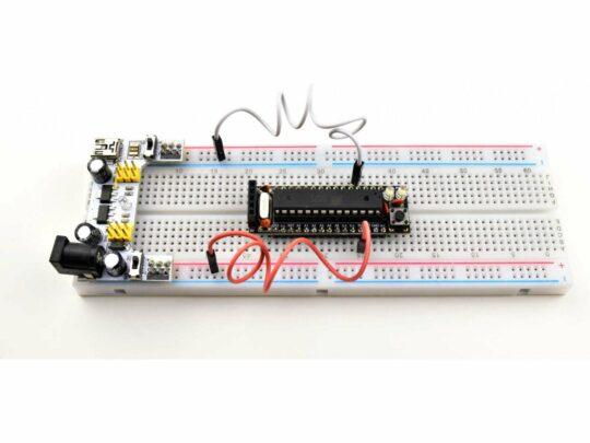 Smallest Arduino UNO / Nano Class Atmega328P Bread Board Buddy V2