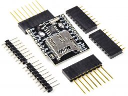 WEMOS D1 Mini ESP8266 Data Logging Shield, RTC, micro-SD
