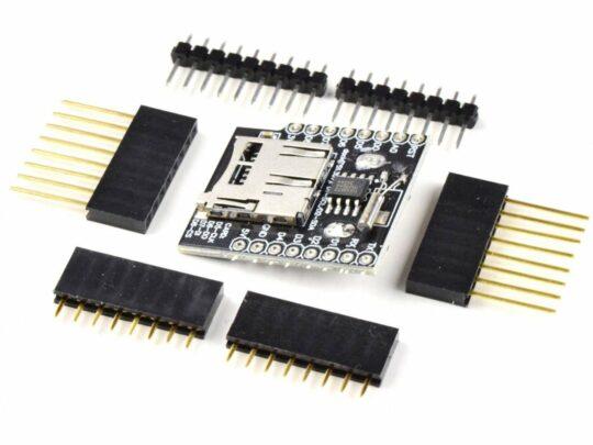 WEMOS D1 Mini ESP8266 Data Logging Shield, RTC, micro-SD