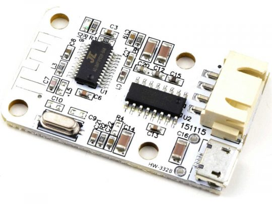 2 x 3 Watt Class-D Bluetooth Stereo Audio Amplifier Module
