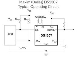3 x DS1307 Real Time Clock Chip RTC DIP-8