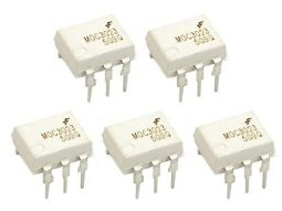 5 pcs MOC3023 Opto-Coupler DIP8 with Triac output 400V AC