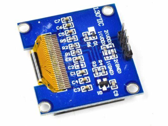 OLED 128×64 Pixel, I2C, 1.3 inch, SSD1306 SH1106, 3-5V