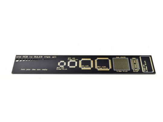 PCB Ruler Double Sided 6 inch 15 cm long