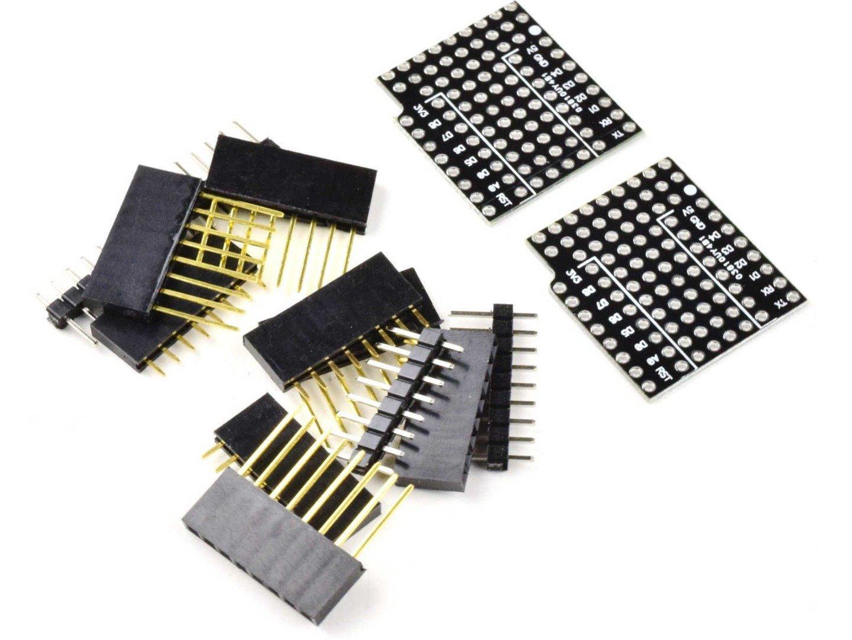 2 x WEMOS D1 Mini Perfboard Breadboard Prototyping Shield