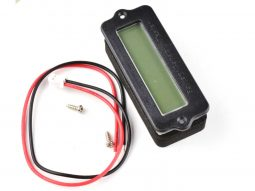 LCD Battery Gauge for Lead-Acid and Lithium Batteries, programmable