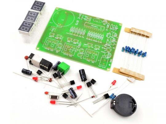 Digital LED Clock 6-Digit, DIY kit based on AT89C2051