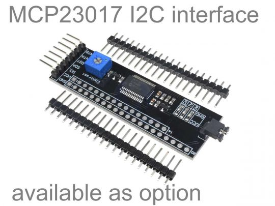 LCD12864 128×64 Graphic Display SPI, green-yellow, ST7920