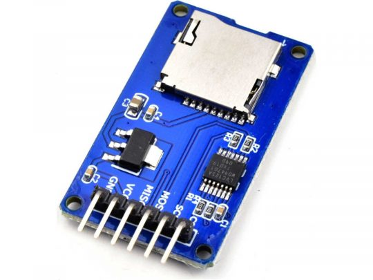 Micro-SD Memory Card Adapter for Arduino with 3.3V-5V converter