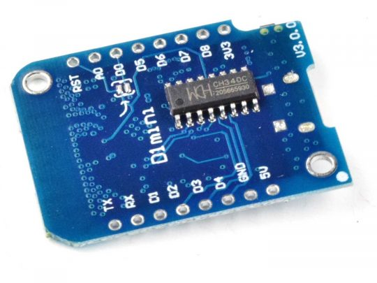 Wemos D1 Mini V3.0.0 ESP8266 WiFi with MicroPython Firmware