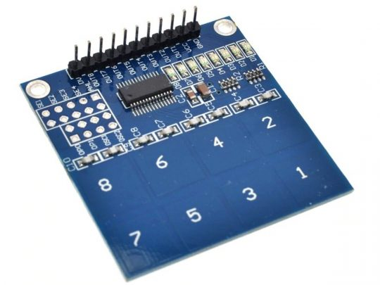 8 Key Touch Sensor Module Keypad 2.4-5.5V for Arduino etc.