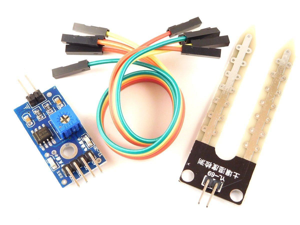 Soil Moisture Sensor analog and digital out