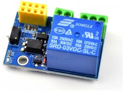 ESP-01 ESP8266 Single Relay Module 10A 250V max.
