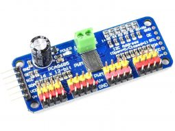 16-Channel 12-bit PWM/Servo Driver – I2C interface – PCA9685
