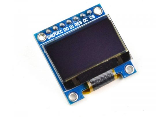 OLED Display 0.96 inch 128×64 with SPI interface – Arduino Library – 3-5V
